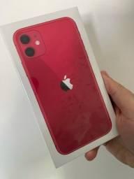 iPhone 11 64 Vermelho Lacrado