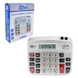 Calculadora Eletrônica Porta Canetas Mbtech MB54316