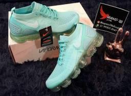Tênis Nike vapor Max verde água