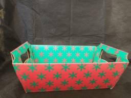 Lindas cestas de papel para o Dia das Mães