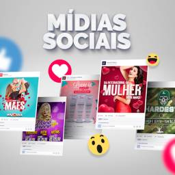 Mídias Sociais / Marketing Digital / Artes Digitais