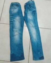 Calças Jeans Infantil Menino - Tam 6
