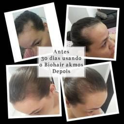 Contra quedas de cabelos e unhas fortes