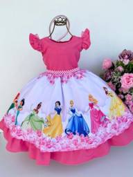 Vestido tema princesas