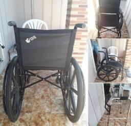 cadeira de rodas e andador
