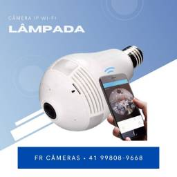 Título do anúncio: Lampada Camera Wi-Fi IP nova com garantia