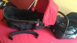 Vendo berço/carrinho/bebê conforto/colchão e kit berço