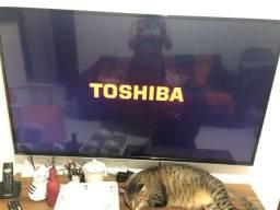 """Smart Tv Led 4K Ultra HD 55"""" Semp Toshiba 55L7400 - não aceito trocas"""