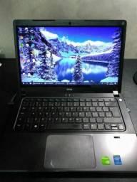 Notebook Ultrafino Dell SSD 128Gb