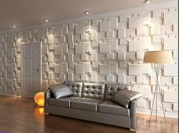 Molde para parede gesso 3d