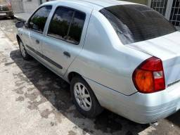 Clio Sedan rt 1.0 Completo top da categoria ( Emplacado 2018 final 0 ) - 2001