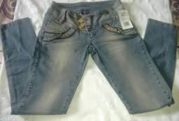 Calça Jeans Nova Com Etiqueta Tam 40
