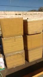 Caixas de isopor 170L usadas