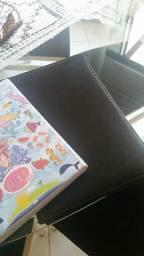 Pasta de couro + Caderno