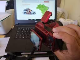 Maquina Fotográfica profissional, Nikon Full HD, Semi-nova, com capa proteç e cartão 32GB