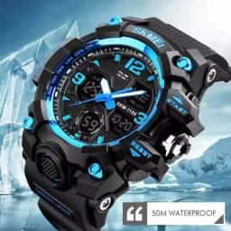 Relógio Skmei a prova D'Agua 50 metros Original