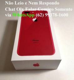 Iphone 8 Plus Red, 256gb - Respondo só Via