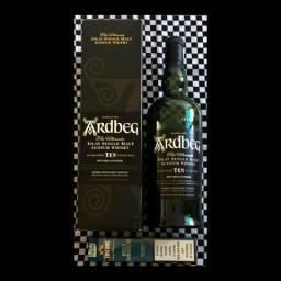 Garrafa VAZIA Uísque Whisky Ardbeg para Colecionadores