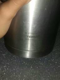 Bela garrafa termica para café leite ou chocolate