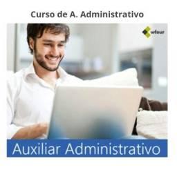 De uma Turbinada no Seu currículo? Curso Auxiliar Administrativo!!!