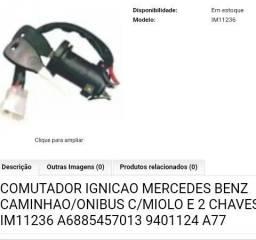 Vendo Comutador Ignição Mercedes-Benz com Miolo