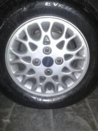Troco rodas aro 13 Fiat comeia