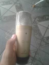 Microfone Behringer C-1U (usb) + Pedestal R$ 500,00
