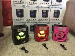 Caixa De Som Bluetooth Portátil Rádio Fm Micro Sd lacrada potente