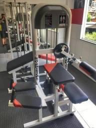 Aparelho Musculação Glúteo 4 apoios Pro-Phisical