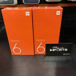 Redmi 6 3/32gb loja física aceitamos cartão só venda