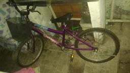 Bicicleta em on estado