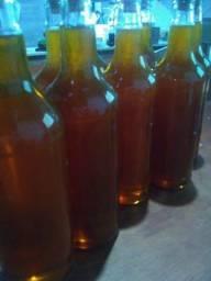 Puro mel de abelha italiana
