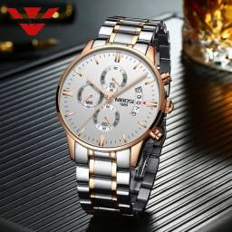 Relógio Masculino De Luxo Nibosi 2309.