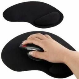 Mouse Pad com Apoio de Braço de Silicone