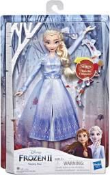 Frozen 2 - Boneca Eletrônica - Elsa - Hasbro E6852/e5498