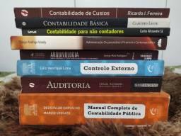 Combo de livros para concurso para Área Fiscal e de Controle