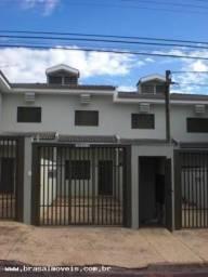 Casa para Locação em Presidente Prudente, Jardim PARIS, 2 dormitórios, 2 banheiros, 1 vaga