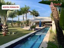 Excelente Chácara moderna com 3500 m² - Paraíso de Igaratá - Igaratá/SP