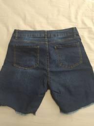 Short jeans com Lycra tamanho 44 NOVO
