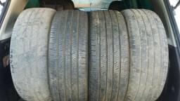 Vendo pneus 215/55r18 Continental