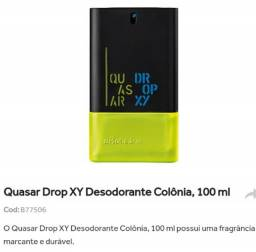 Quasar drop XY desodorante colônia 100ml