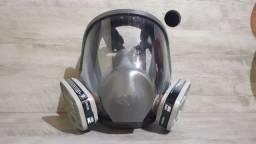 Máscara Facial / Plug Macho 2P 10A Branco