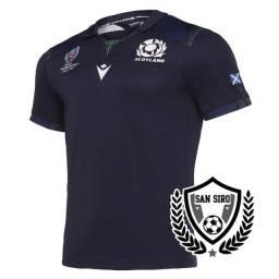 Camiseta Rugby Macron Escócia Rwc 2019 Home Pronta Entrega