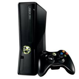 Xbox 360 slim + jogos