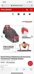 Genis fitness plataforma de exercício transformer full body atariam