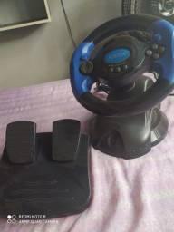 VOLANTE E PEDAL ( PS2 E PC )