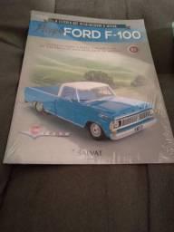 Picape Ford F-100: Encarte + Peças - Ed. 01