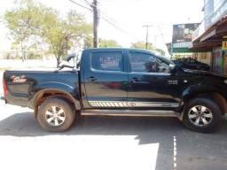 Hilux 2009 gasolina vendo ou troco em chacara