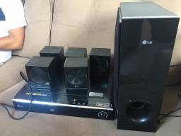 Home theater LG semi novo
