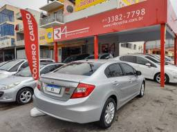 Civic 2014 LXR 2.0 Flex Automático Banco de Couro Somente de Brasília Oportunidade